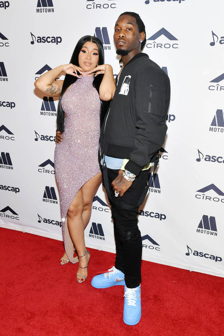 Offset shares a video of Cardi B cleaning, jokingly calls her out for 'lying' in her WAP song lindaikejisblog