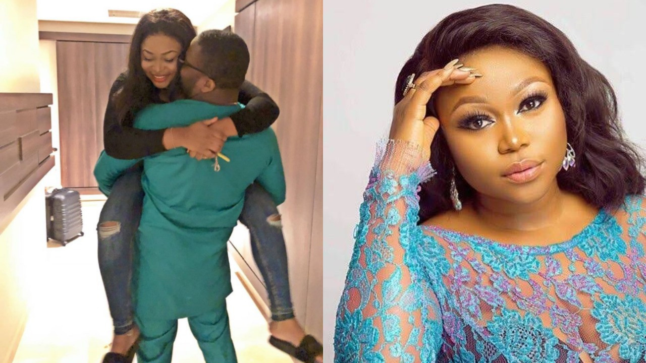 Being your wife is so peaceful - Ruth Kadiri celebrates wedding anniversary with husband lindaikejisblog