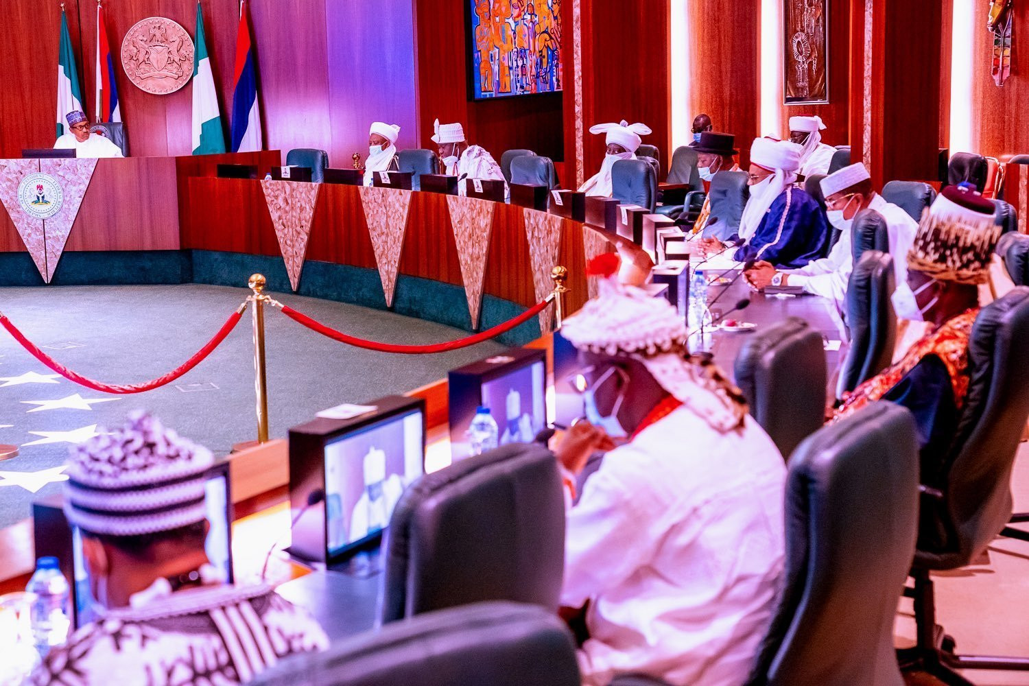 Government will no longer tolerate threat to peace and unity - Buhari lindaikejisblog