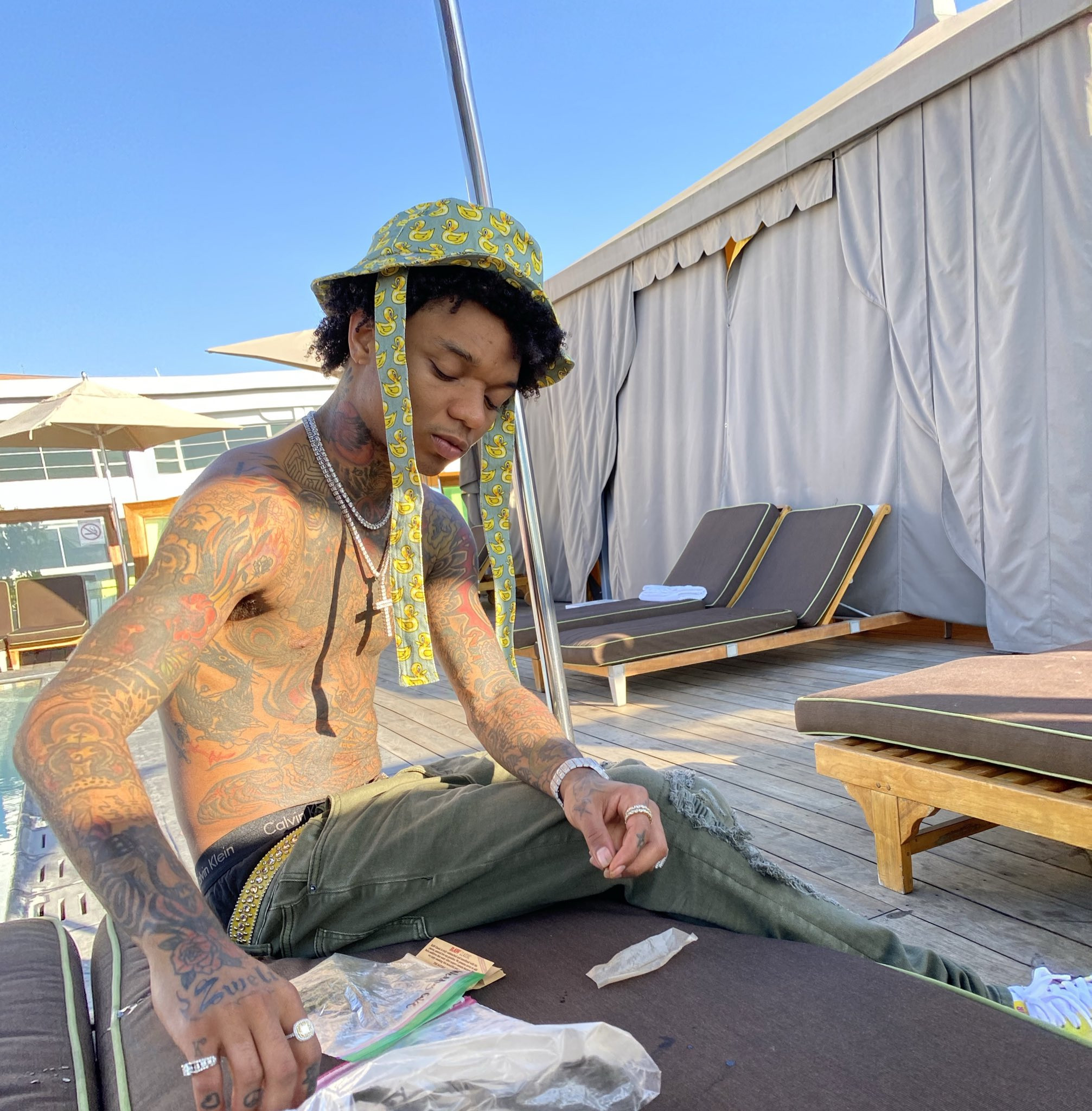 Swae Lee shares photo of his DNA results which confirms link to Nigeria lindaikejisblog