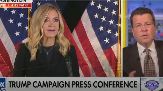 Fox News cuts off President Trump's Press Secretary, Kayleigh McEnany over 'false claim' about the US Presidential election lindaikejisblog