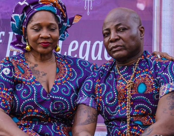 I realized we have become a role model couple for Institution of marriage - Charly Boy explains why publicly proposed to his wife for the 4th time in 45 years of marriage lindaikejisblog
