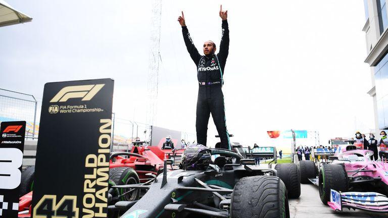 Lewis Hamilton makes history as he wins his seventh Formula 1 title lindaikejisblog 2