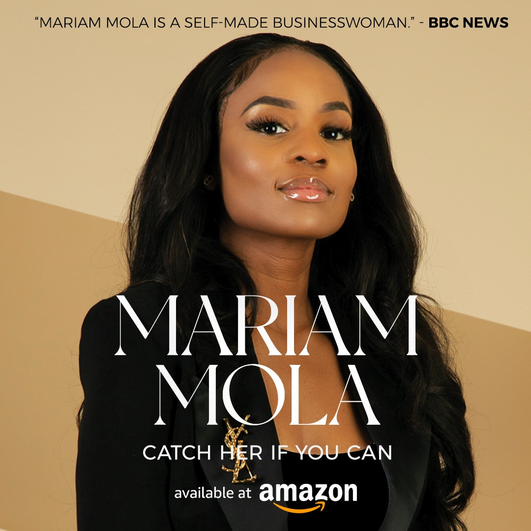 Pastor and Enterpreneur, Mariam Mola recently accused of fraud in the UK has shared her remarkable story in her new book Catch Her if You Can lindaikejisblog