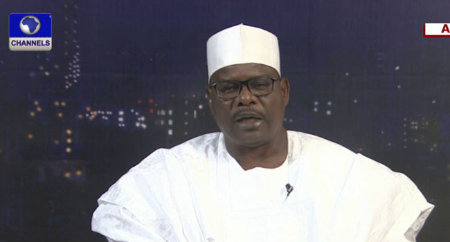 Kleptocrats in government are betraying Buhari's policies - Senator Ali Ndume lindaikejisblog