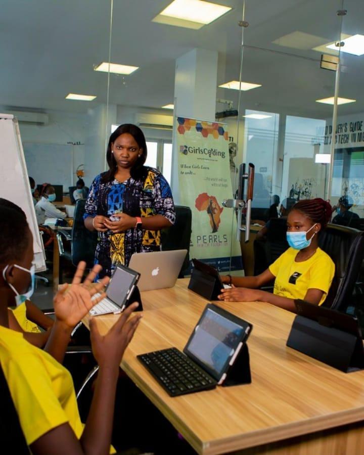 Union Bank Partners Pearls Africa Youth Foundation on 2020 Girls Coding Summer Camp lindaikejisblog
