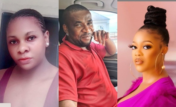 Actress Eve Esin and movie producer fiance react after being called out by ex-wife for allegedly destroying her home and seizing her kids lindaikejisblog