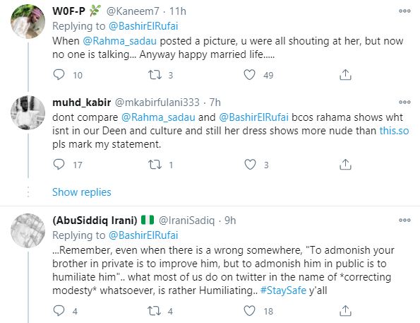 Muslims call out Bashir El-Rufai over 'inappropriate ' loved-up photos with his bride lindaikejisblog 3