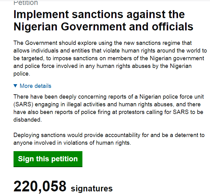 UK Parliament fixes date to debate sanctions against Nigerian government lindaikejisblog 1