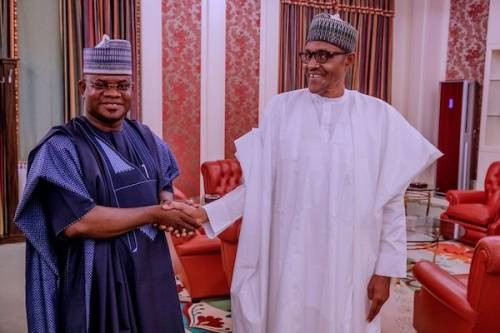 Buhari is like snow - Governor Yahaya Bello lindaikejisblog