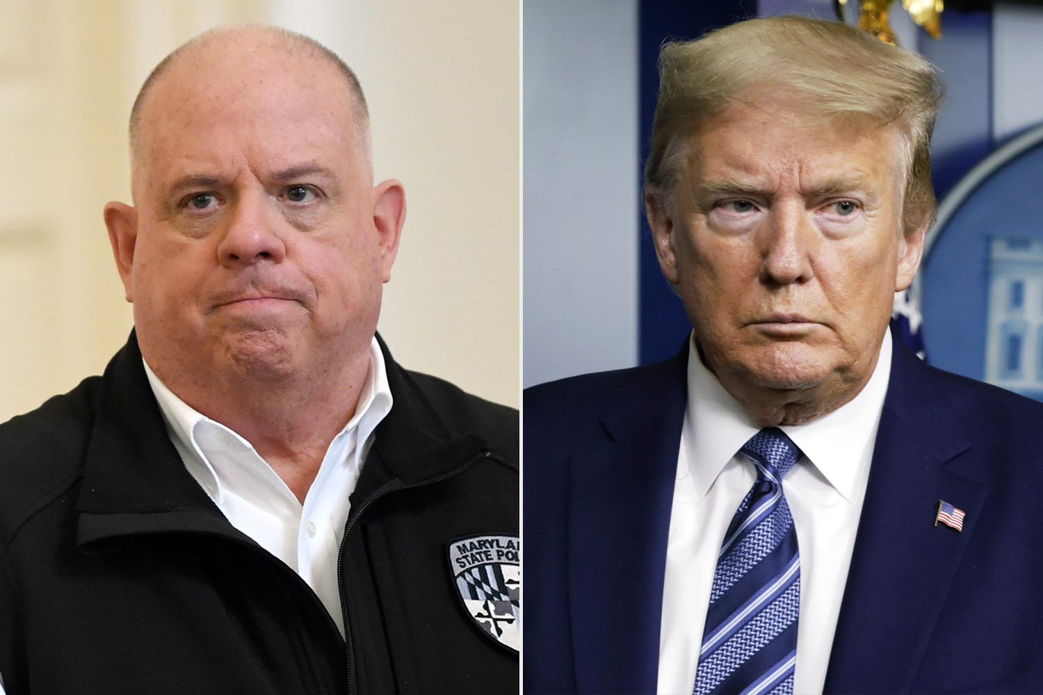 What Trump is doing is outrageous and an assault on our democracy - Maryland Governor Larry Hogan lindaikejisblog