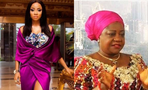 Lauretta Onochie went from criticizing the government to blindly forgetting the side she once took - Toke Makinwa lindaikejisblog