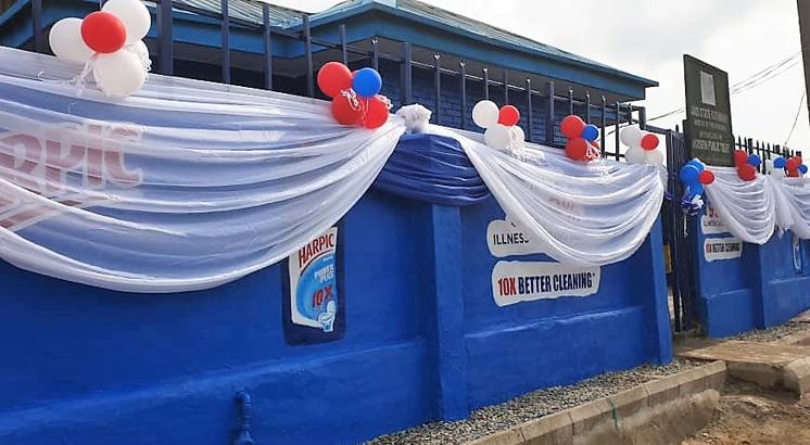 Harpic champions end to open defecation, donates 47 public toilet units in Lagos lindaikejisblog1