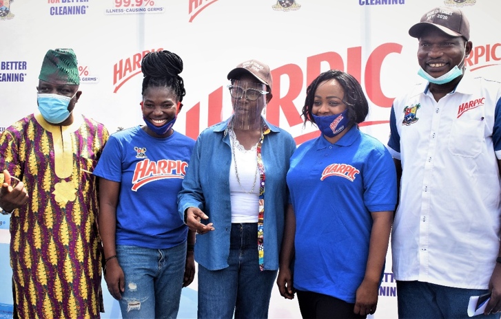 Harpic champions end to open defecation, donates 47 public toilet units in Lagos lindaikejisblog2