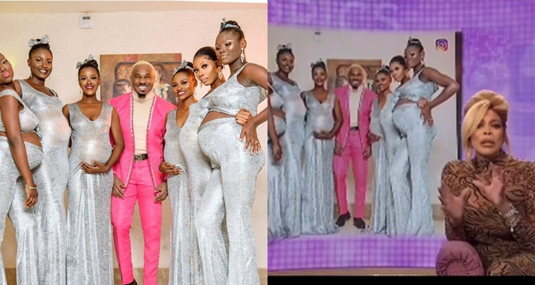 Pretty Mike and his 'pregnant girlfriends' make it Wendy Williams Show