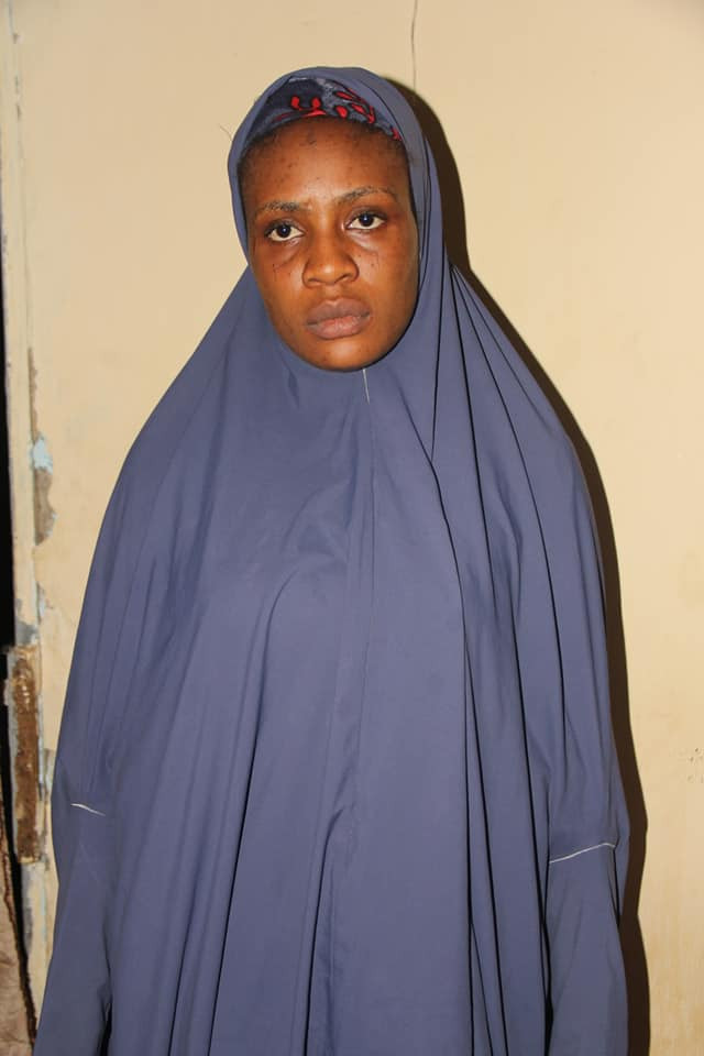 Police arrest 28-year-old woman for allegedly harbouring and supporting criminals in Bauchi