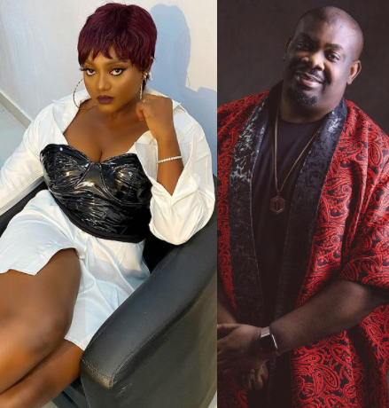 """If I die, I die"" Actress Nazo Ekezie shoots her shot at Don Jazzy"