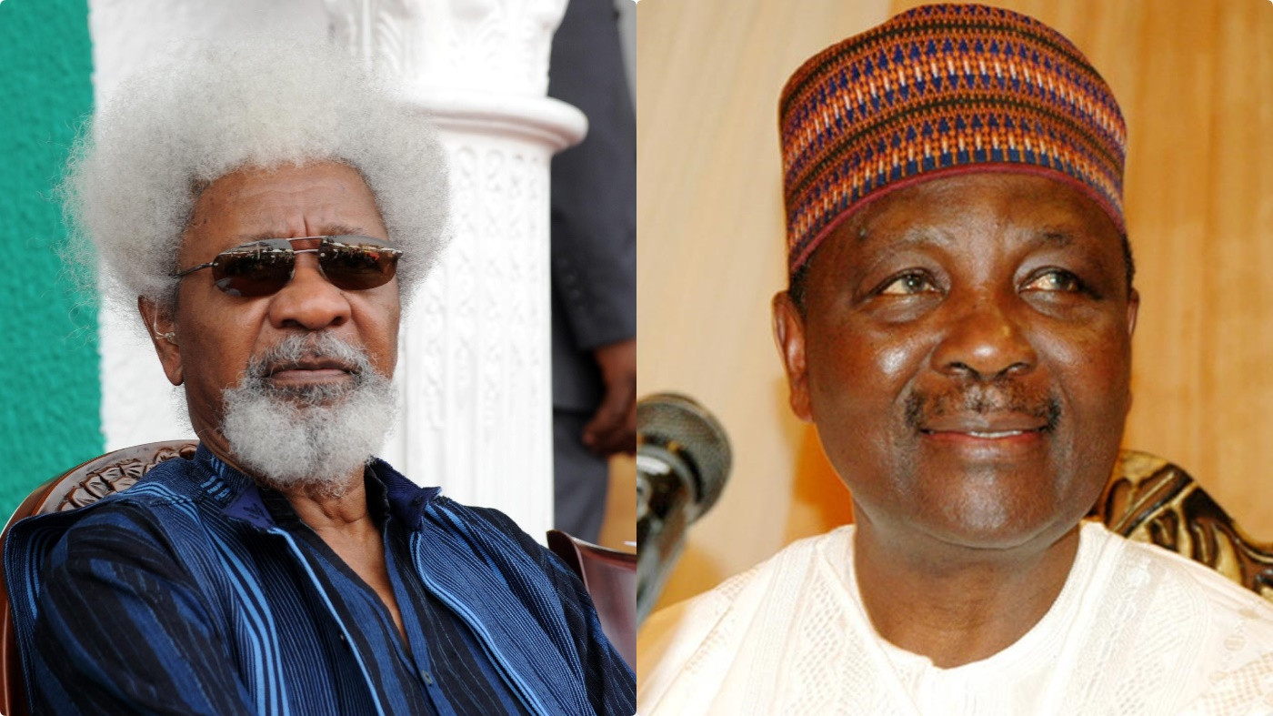 Nothing to forgive - Soyinka speaks on relationship with Gowon after he arrested him and placed him in solitary confinement