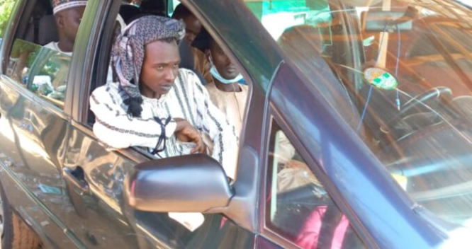 Suspected kidnapper nabbed after mistakenly boards vehicle owned by one of his victims
