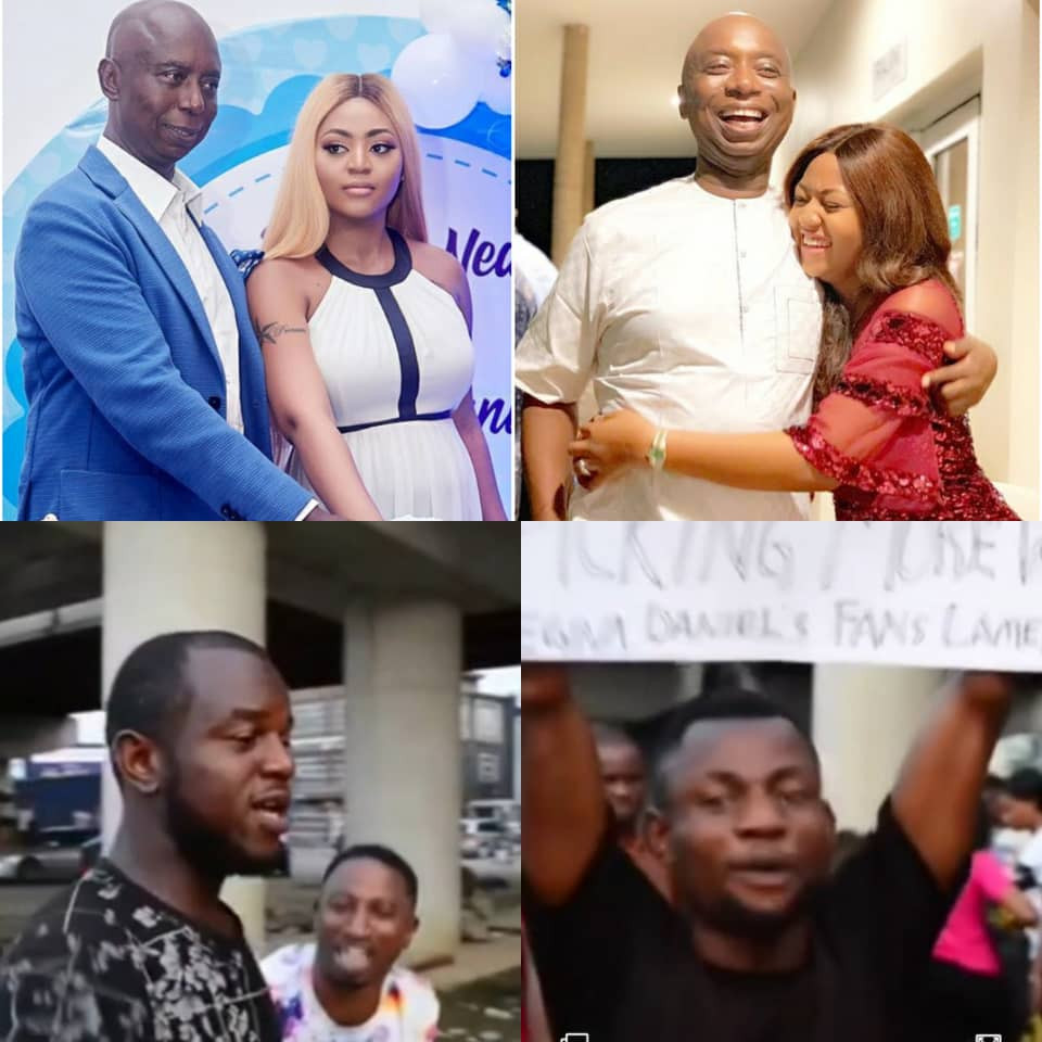 """Ned Nwoko must not marry another wife' Regina Daniels' diehard fans stage protest in Port Harcourt(Video)"