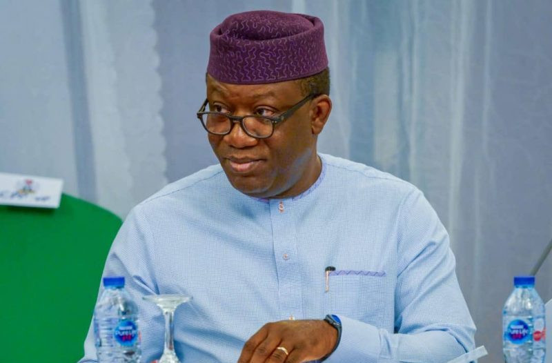 I am not an advocate of zoning - Governor Fayemi lindaikejisblog