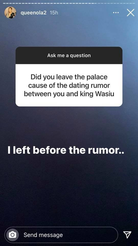 I'll never try out polygamy again. I left the palace before the rumour of dating King Wasiu - Alaafin of Oyo's former wife, Queen Ola reveals lindaikejisblog 10