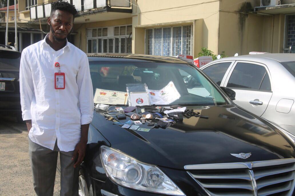 Fake Lagos doctor arrested by EFCC for fraud lindaikejisblog