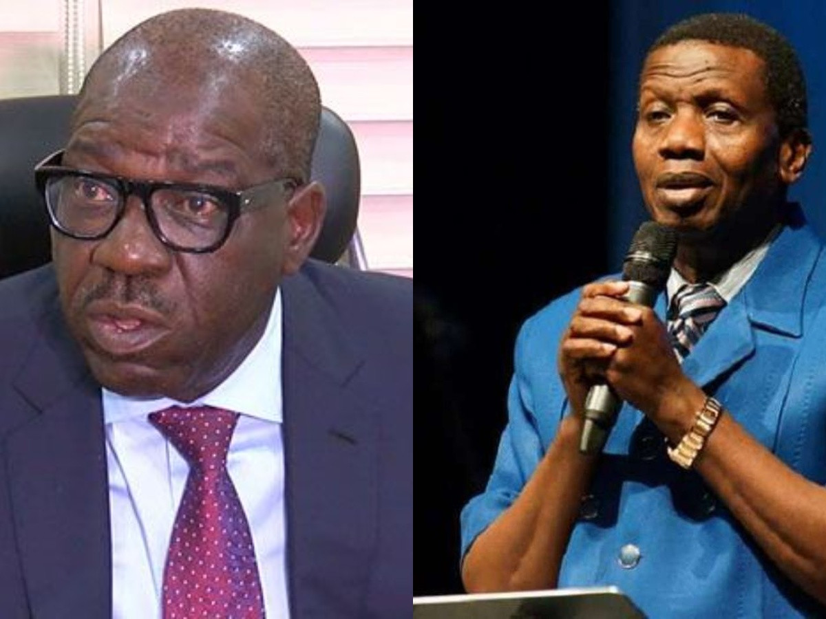 Pastor Adeboye assured me that Ill be reelected - Governor Obaseki lindaikejisblog
