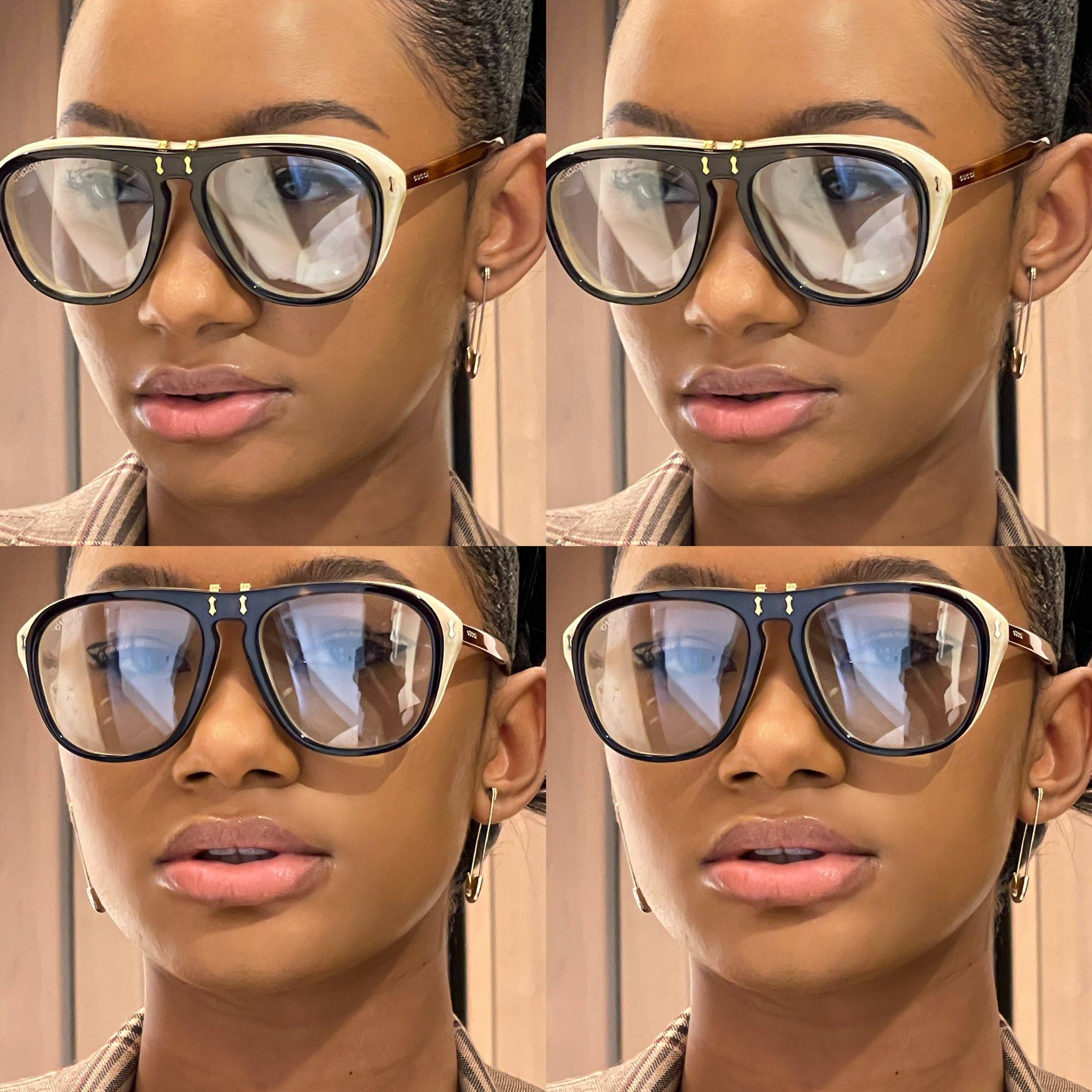 Temi Otedola rocks 14 Karat Gold Safety Pin earrings worth N114K in new photos lindaikejisblog