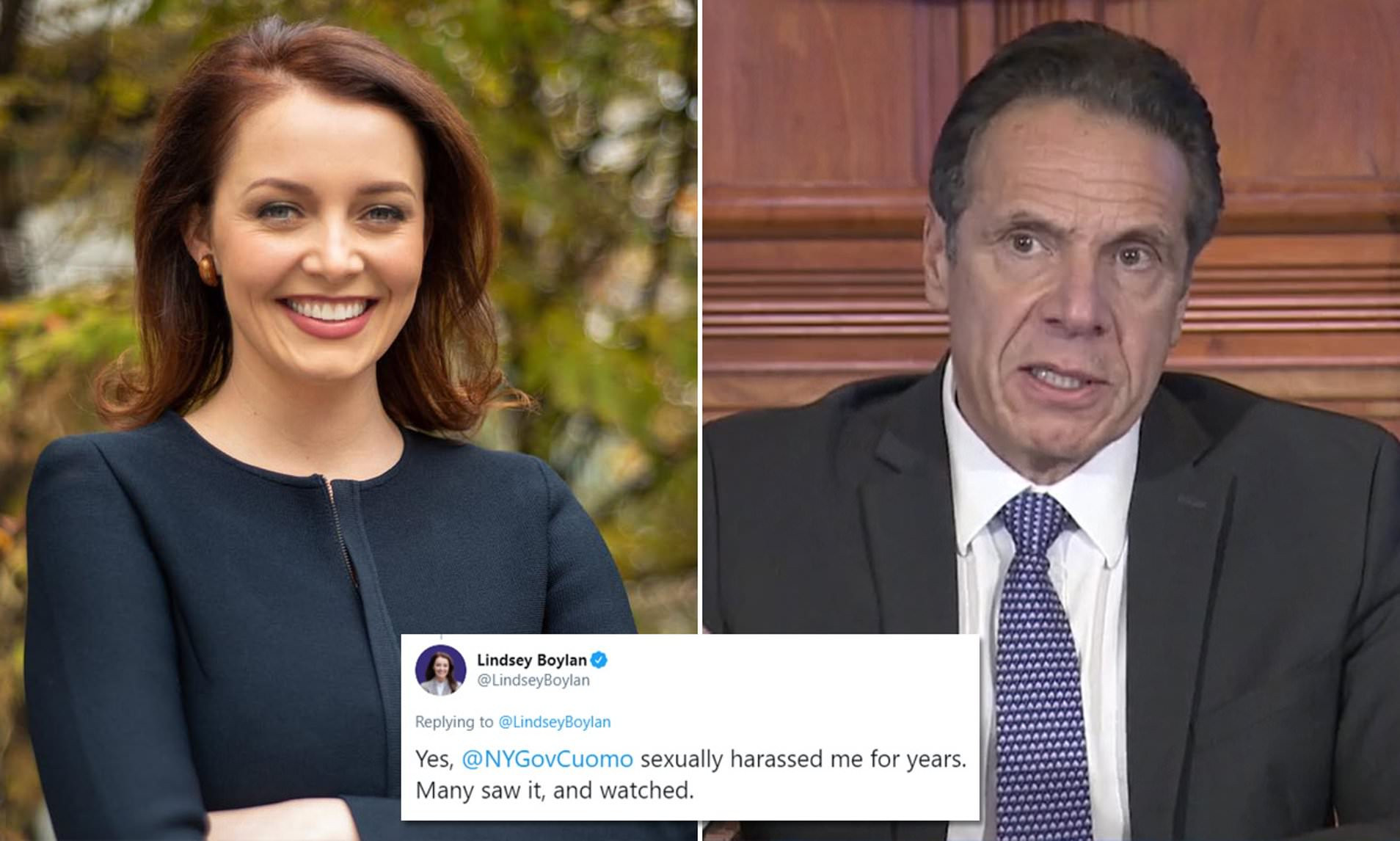 New York Gov. Andrew Cuomo accused of sexual harassment by ex-aide