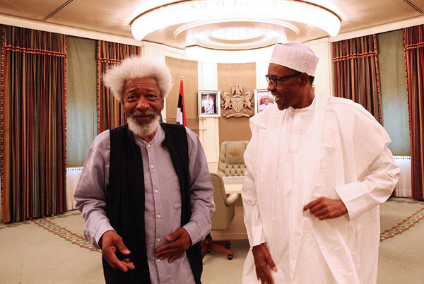 Buhari is not in charge, kidnap of schoolboys in his home state is a slap on his face - Soyinka lindaikejisblog