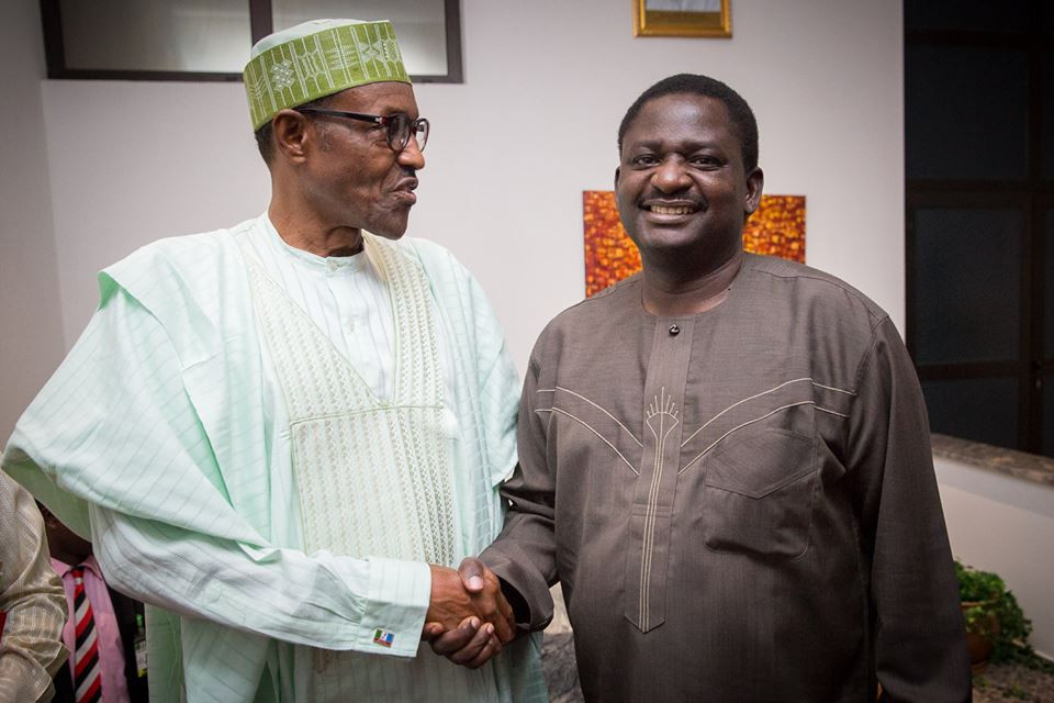 Femi Adesina reacts to claim of President Buhari being cloned in 2017 lindaikejisblog