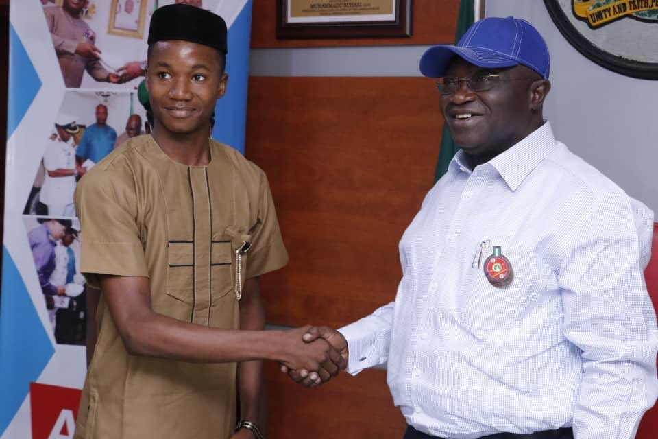 Abia's 17-year-old one-day Governor sets inmates free lindaikejisblog