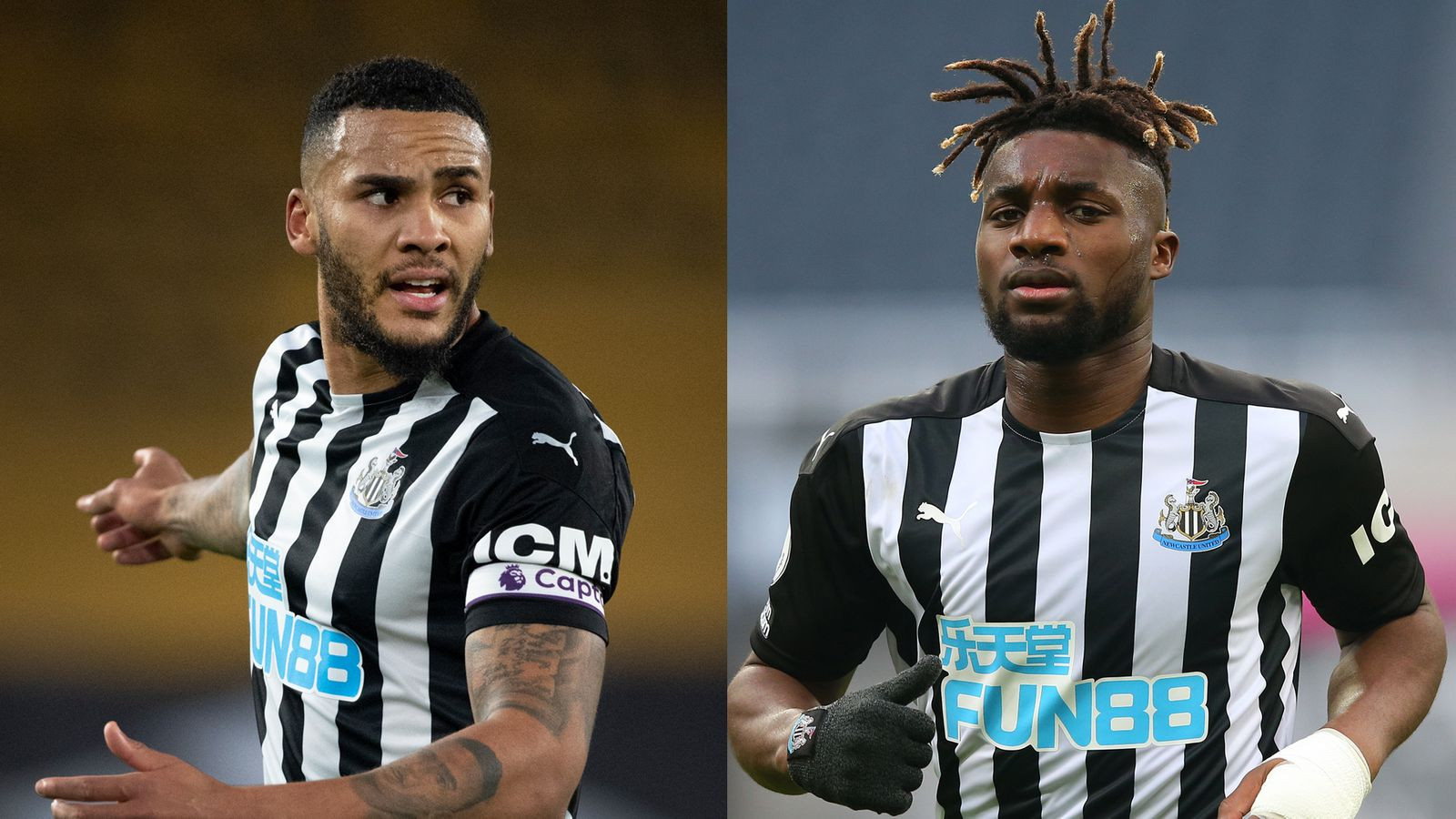 Newcastle stars, Jamaal Lascelles and Allan Saint-Maximin suffering long-term effects from Covid-19 and struggling to walk