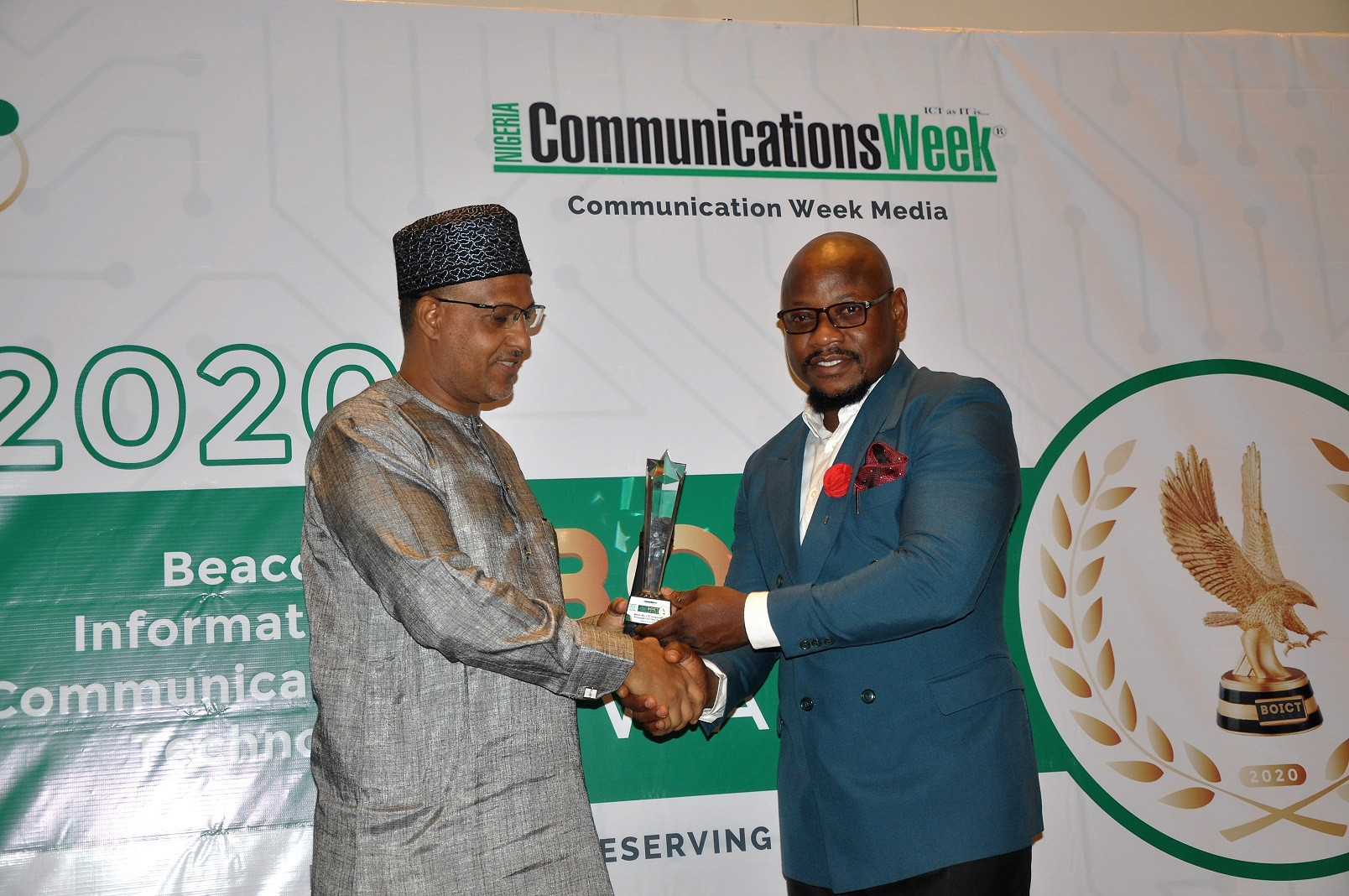 Spectranet 4G LTE Shines at BoICT 2020 awards Wins Best 4G LTE Internet Service Provider of the year