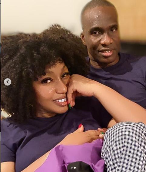 Rita Dominic shows off her partner in Christmas photos lindaikejisblog 2