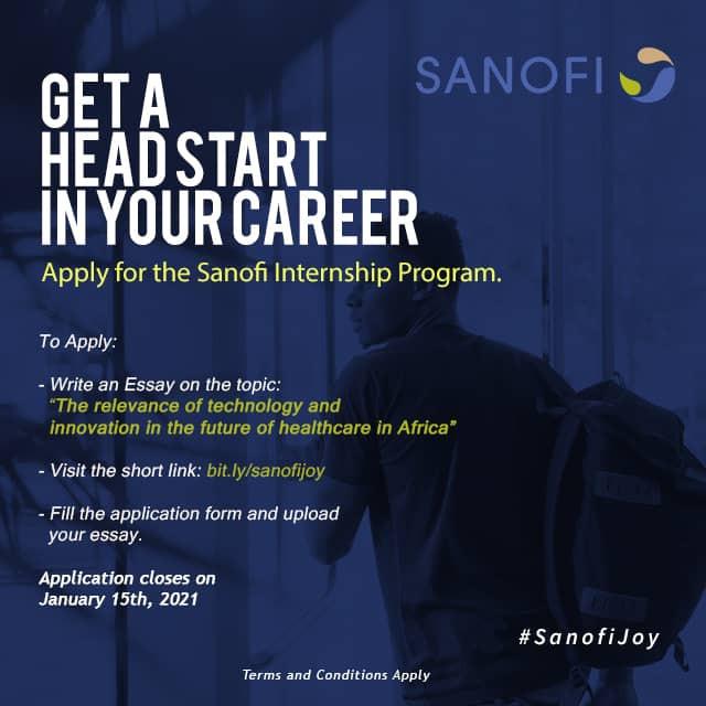 Sanofi Unveils Empowerment Programme, Calls for entry