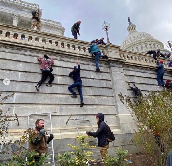 Two completely different America we are living in, if those who invaded the Capitol building are black they would have all been shot dead - Kevin Hart lindaikejisblog 2