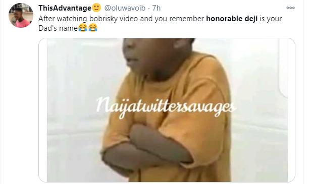 Honorable Deji trends as Bobrisky teaches women how to moan lindaikejisblog 2