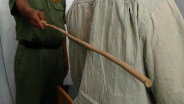 25-year-old man bags 12 strokes of the cane for dealing in hard drugs in Kano state lindaikejisblog
