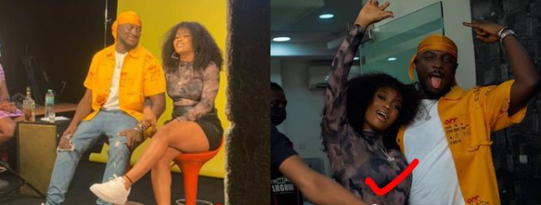 Davido's newly signed artiste and DMW First lady, Liya among those arrested at Lagos club lindaikejisblog 1