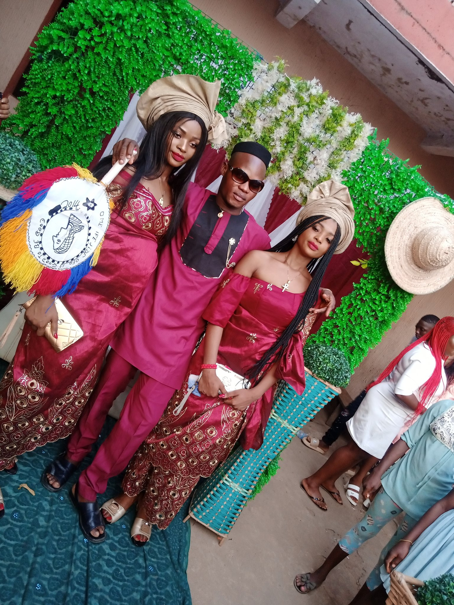 Nigerian man marries twins because 'they cant live without each other' lindaikejisblog 2