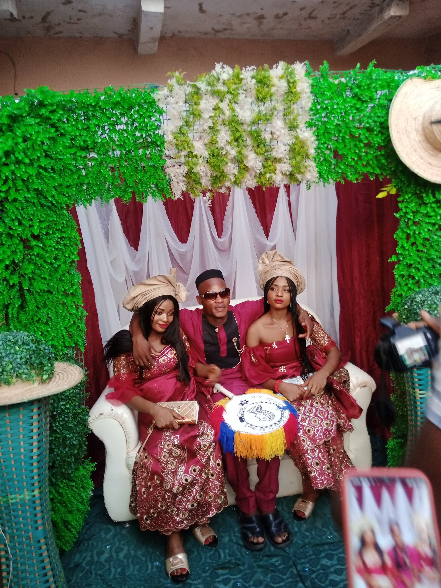 Nigerian man marries twins because 'they cant live without each other' lindaikejisblog 3