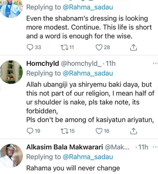 Actress Rahama Sadau called out again by Muslims for 'showing off her skin' in new photo lindaikejisblog 2