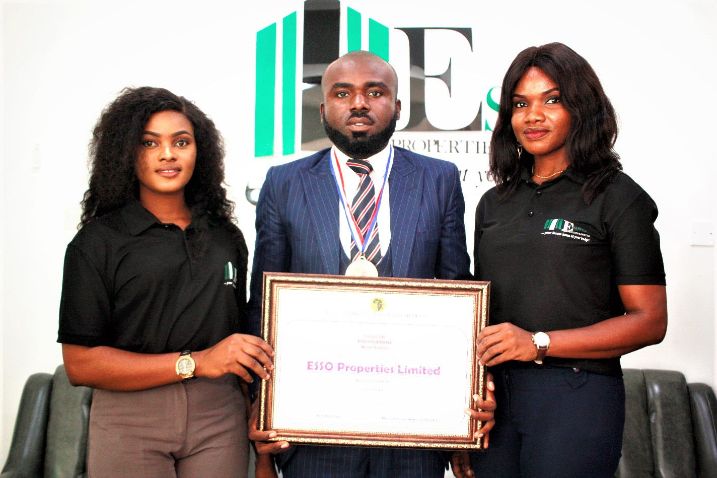 Real Estate Rising Star Ezenagu, inducted into LEADS Africa Hall of Fame lindaikejisblog3