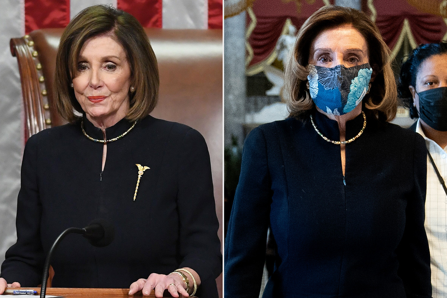Nancy Pelosi wore same dress she wore in Trump's first impeachment for the second lindaikejisblog