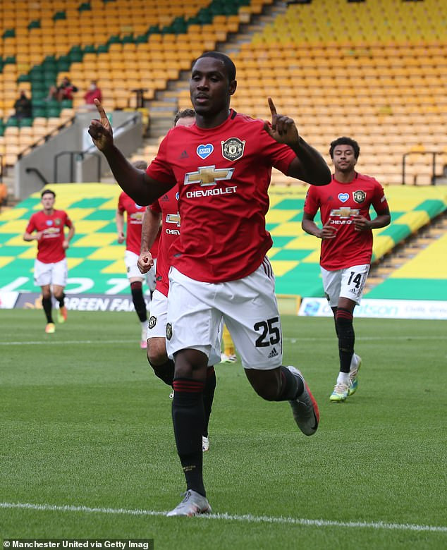 Odion Ighalo talks up potential move to the US and admits he would like to sign for David Beckham's Inter Miami once Manchester United loan deal ends