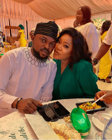 Thank you so much for loving me so purely and devotedly - Toyin Abraham celebrates husband Kolawole on his birthday