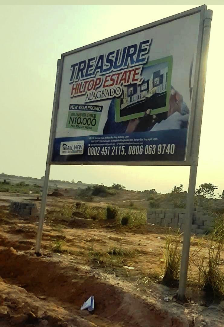 Buy a piece of land in Lagos