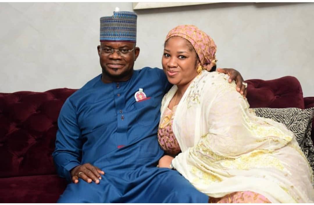 Governor Yahaya Bello divorces third wife Hafiza